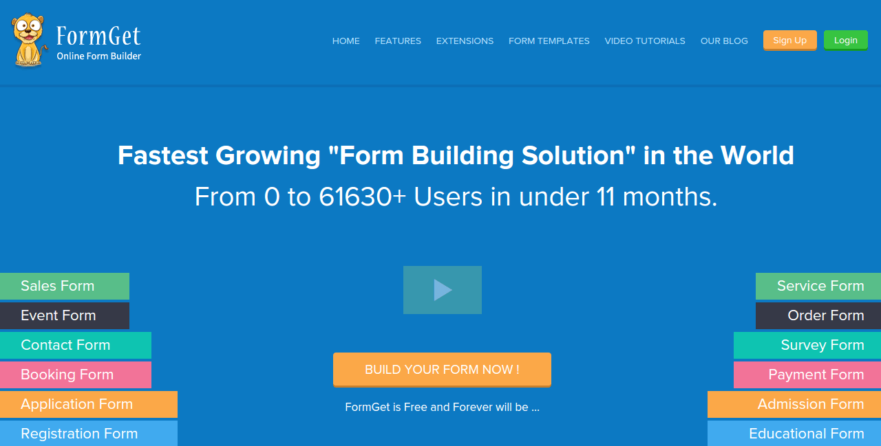 Build Your Next Web Forms Using FormGet