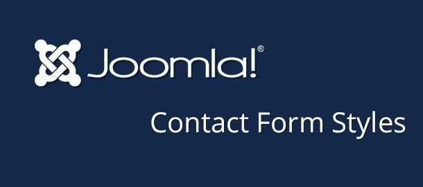How to change Joomla! Contact form layout?