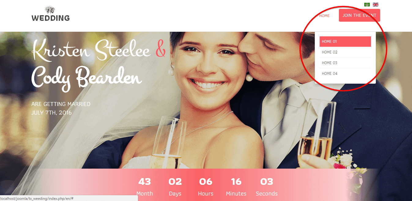 Event Countdown Timer