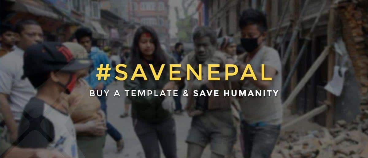 #SaveNapal - We are donating 10% from our every sale to the earthquake relief in Nepal