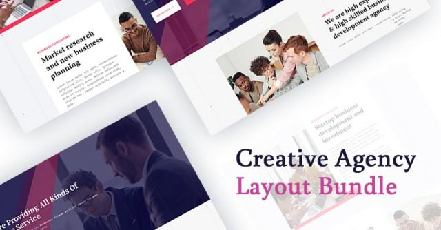 Introducing Creative Agency Layout Bundle for Quix Page Builder