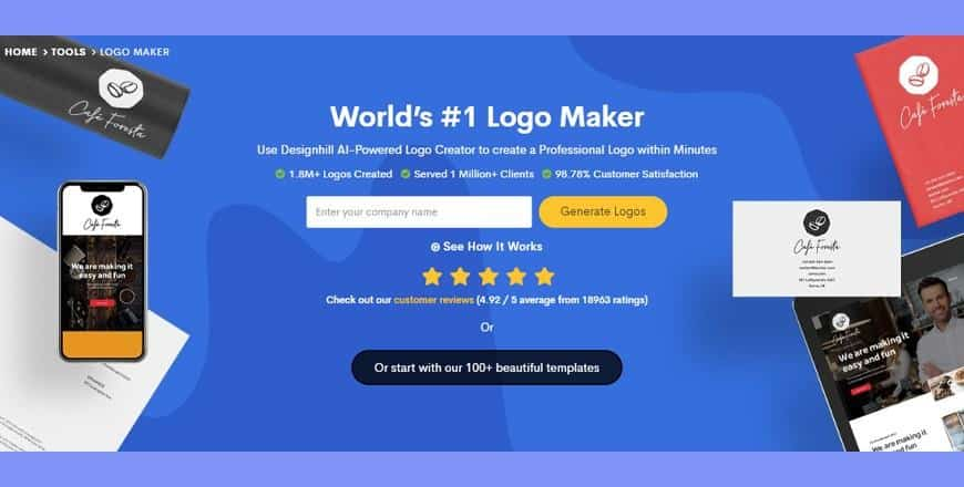 10 Best Free Online Logo Maker 2020