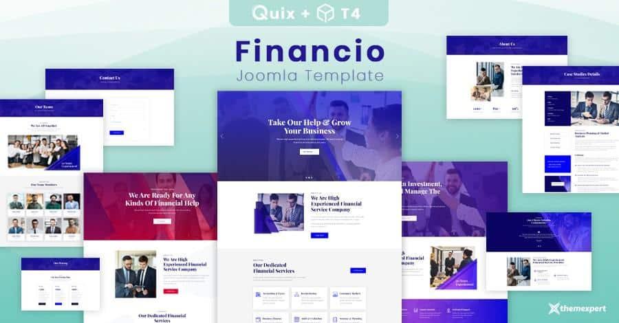 Financio-Joomla-template