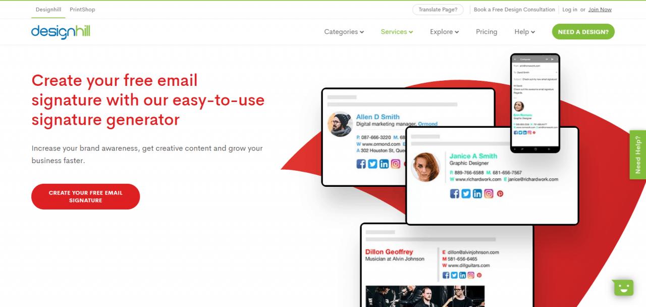 best free email signature generator