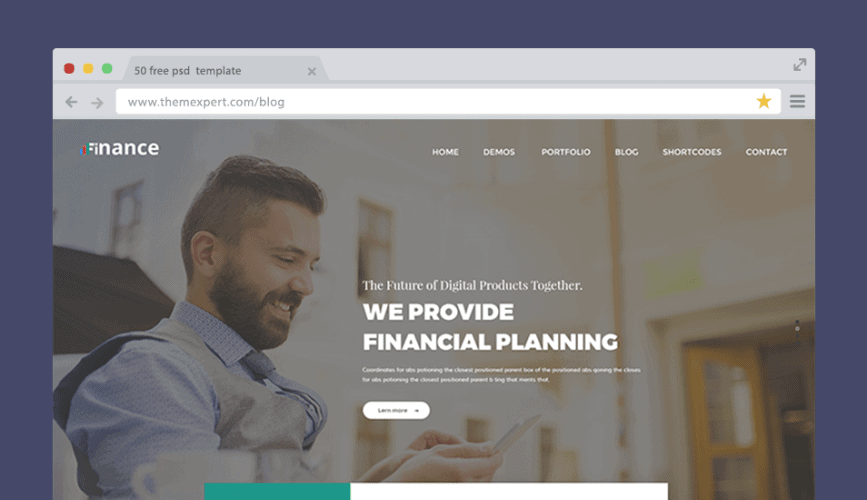 50 Free Psd Website Templates For Corporate Education Lms Blog Portfolio And Other Awesome Websites 2020