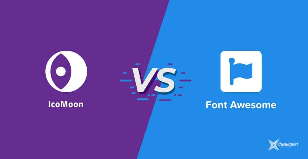 IcoMoon VS Font Awesome