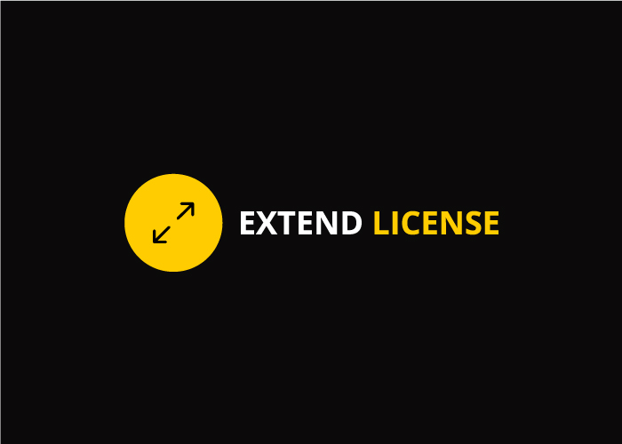Extended License Image
