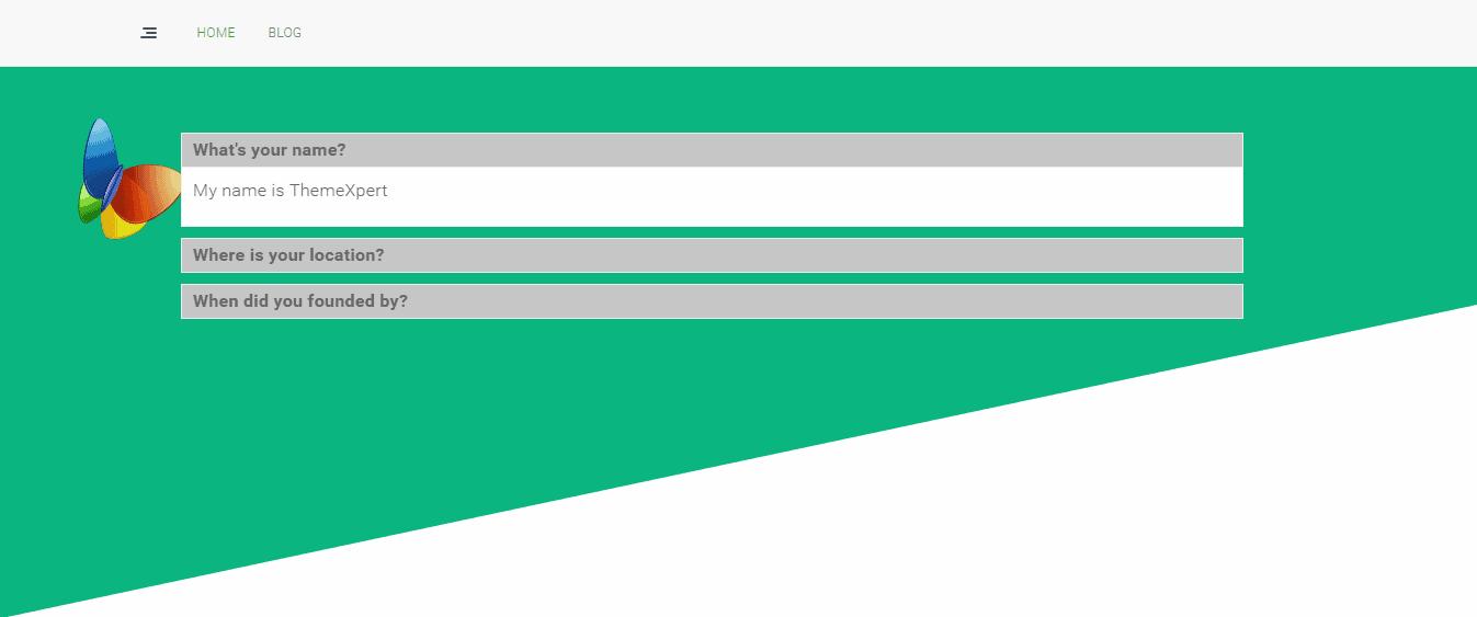 Angular Section