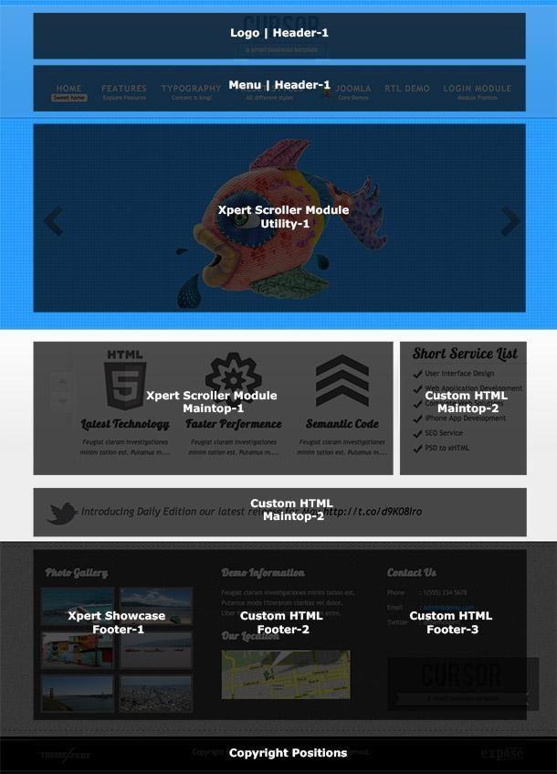 Cursor homepage