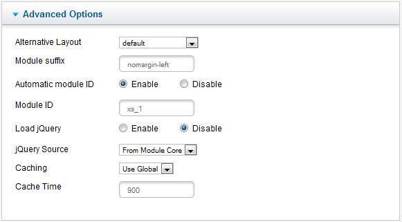 xpert scroller settings