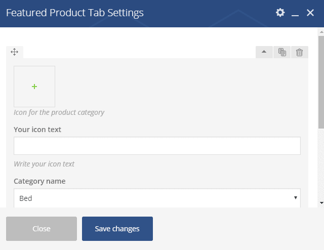 Featured Product Tab