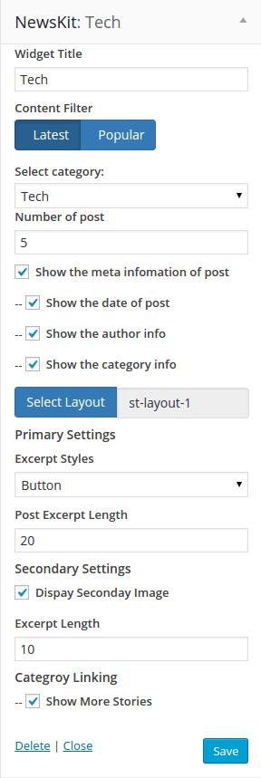 NewsKit Static Layout 01