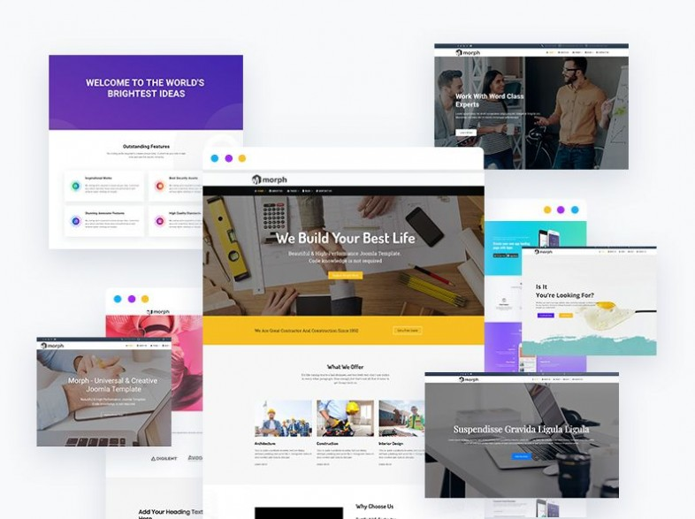 Best Free Joomla Template Built With Visual Page Builder Quix Themexpert